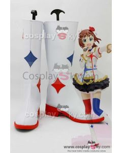 THE IDOLM@STER 765 idols Haruka Amami Moviestoons Boots Cosplay Shoes