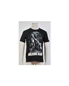 The Walking Dead Rick Fight The Dead Fear The Living T-shirt