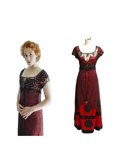 Titanic Rose Jump Dress Costume Edwardian