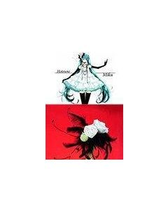 Vocaloid Camellia Headwear and Corsage Flower Brooch Cosplay