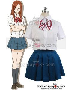 Wolf Girl and Black Prince Aki Tezuka Shirt Skirt Outfit Cosplay Costume
