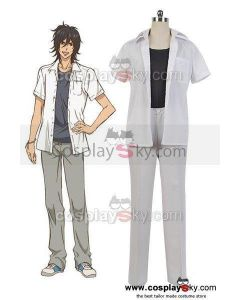 Wolf Girl and Black Prince Takeru Hibiya Shirt Pants Outfit Cosplay Costume