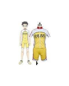 Yowamushi Pedal Sohoku members Bicycle Race Suit Costume Cosplay